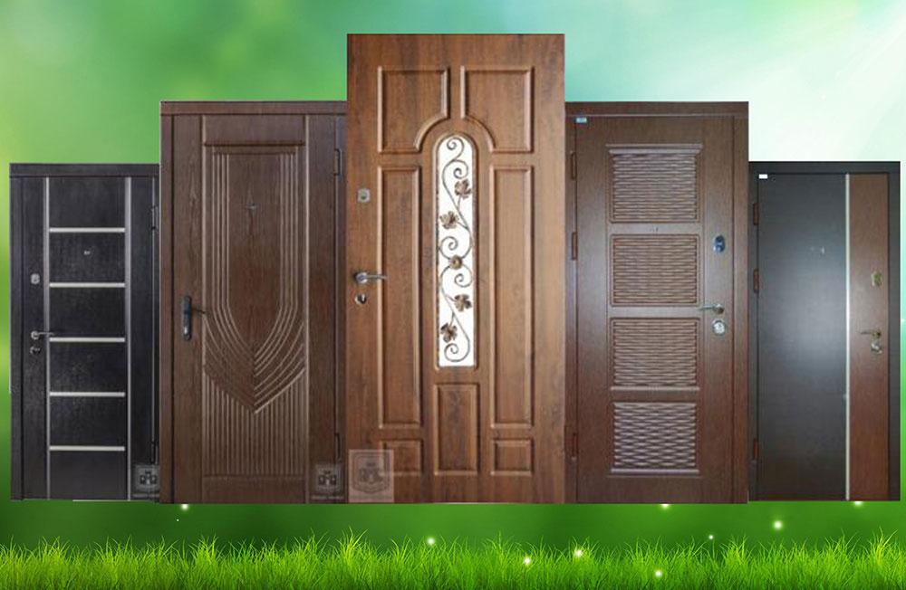 Двері міжкомнатні, металеві
