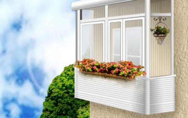 Засклення балконів
