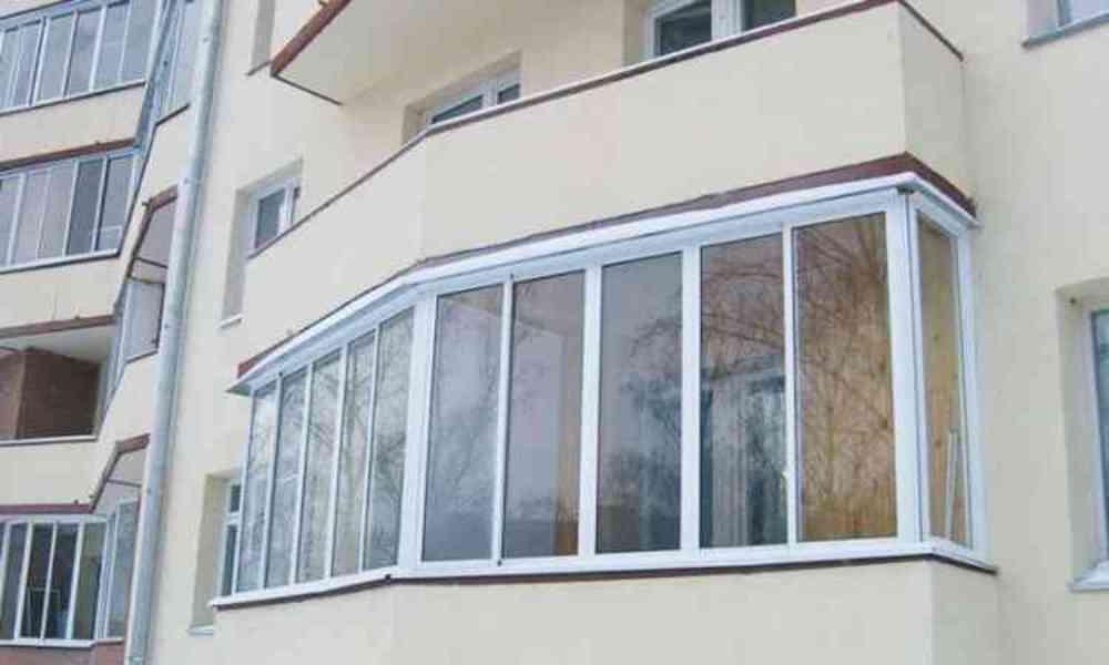 Остекление балконов в вао.